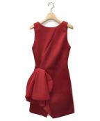 EMPORIO ARMANI EA7(エンポリオアルマーニ イーエーセブン)の古着「ドレス」|レッド