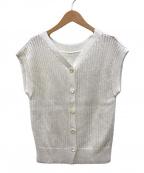 ANAYI(アナイ)の古着「グラスコットン2WAYプルオーバー」|ホワイト