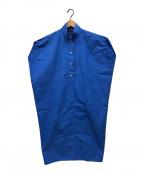 SOFIE D'HOORE()の古着「ハイネックワンピース」 ブルー