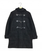 PRADA(プラダ)の古着「ダッフルコート」|ブラック