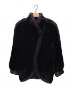 SAGA MINK(サガミンク)の古着「ミンクコート」|ブラック