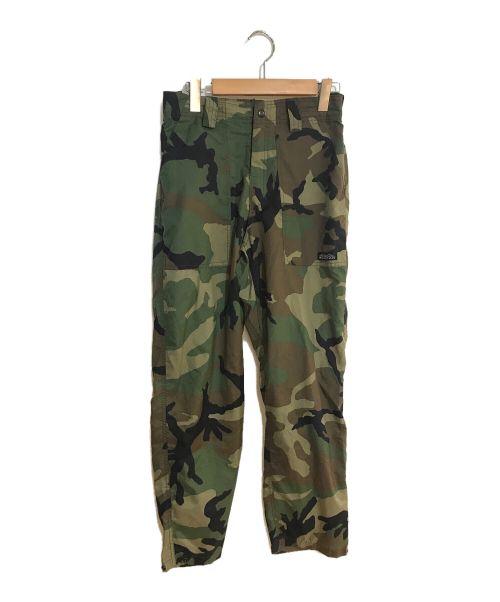 MOCEAN(モーシャン)MOCEAN (モーシャン) 迷彩パンツ オリーブ サイズ:XSの古着・服飾アイテム