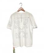 OFFWHITE(オフホワイト)の古着「PAZZLE ARROW T-SHIRT」 ホワイト