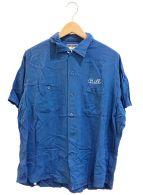 ()の古着「[古着]ヴィンテージボーリングシャツ」 ブルー