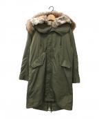 DEUXIEME CLASSE(ドゥーズィエム クラス)の古着「M65モッズコート」 オリーブ