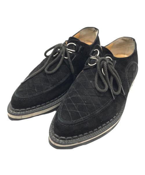 UNDERCOVER(アンダーカバー)UNDERCOVER (アンダーカバー) シャークソールレースアップシューズ ブラック サイズ:27-28cm相当の古着・服飾アイテム