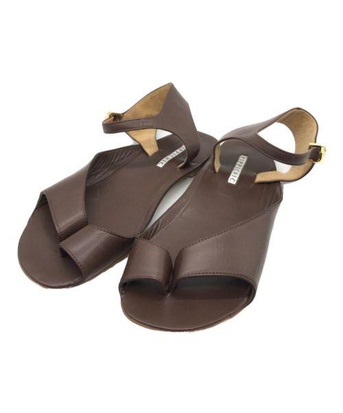 Pippichic(ピッピシック)Pippichic (ピッピシック) サンダル ブラウン サイズ:37 1/2の古着・服飾アイテム