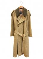 Christian Dior MONSIEUR(クリスチャンディオールムッシュ)の古着「[OLD]トレンチコート」|ベージュ
