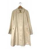 ()の古着「ステンカラーコート」 アイボリー