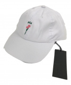 WIND AND SEA(ウィンダンシー)の古着「H-E-A(ROSE-OP-LOVED) CAP /キャップ」|ホワイト
