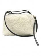 ()の古着「ショルダーストラップ付ファーミニバッグ」|ホワイト
