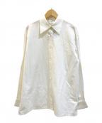 CELINE(セリーヌ)の古着「[OLD]プレーンロゴドレスシャツ」|ホワイト