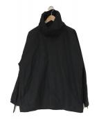 ()の古着「コットンリネンプルオーバージャケット」|ブラック
