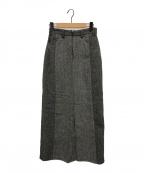77circa(ナナナナサーカ)の古着「MOON TWEED SKT」|ブラック