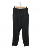 DEUXIEME CLASSE(ドゥーズィエム クラス)の古着「シルクサテンドロストパンツ」|ブラック