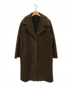 SMUK(スモック)の古着「Feikumuton Long COAT」|ブラウン