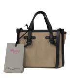 GIANNI CHIARINI(ジャンニキャリーニ)の古着「2WAYバッグ」|ベージュ
