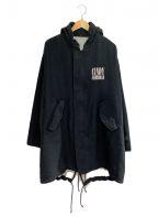 UNDERCOVER(アンダーカバー)の古着「CindyCTJQ ミドルモッズCT」|ブラック