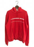 UNDERCOVER()の古着「HOODIE CLOCKWORK ORANGE」|レッド