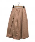 styling/(スタイリング)の古着「ランダムタックフレアスカート」|ピンク