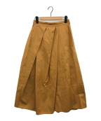 styling/(スタイリング)の古着「ランダムタックフレアスカート」|マスタード