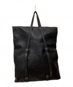 sisii(シシ)の古着「レザートートバッグ」|ブラック