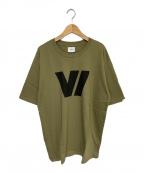WTAPS(ダブルタップス)の古着「V/ SS TEE」 オリーブ