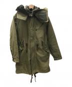 RUDE GALLERY(ルードギャラリー)の古着「モッズコート」 オリーブ
