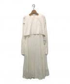 emmi atelier(エミアトリエ)の古着「ワンピース」 オフホワイト