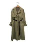 UNITED TOKYO(ユナイテッドトウキョウ)の古着「Aラインリバーシブルコート」 ベージュ