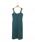 styling/ kei shirahata(スタイリング / ケイ シラハタ)の古着「ボタンフライキャミドレス」|グリーン