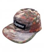 SUPREME(シュプリーム)の古着「Afternoon Camp Cap」|レッド×パープル