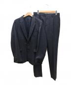 PS Paul Smith(PSポールスミス)の古着「ネップツイードセットアップスーツ」|ネイビー
