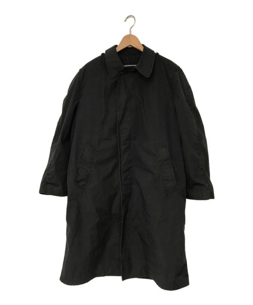 U'S NAVY(ユーエスネイビー)U'S NAVY (ユーエスネイビー) ライナー付ステンカラーコート グレー サイズ:38Sの古着・服飾アイテム
