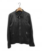 5351 pour les hommes(5351プールオム)の古着「レザージャケット」 ブラック