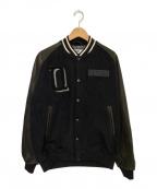 SEQUEL(シークエル)の古着「スタジャン」|ブラック