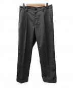 BEAMS PLUS(ビームスプラス)の古着「コンバットウール1プリーツトラウザーズパンツ」|グレー