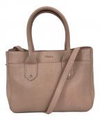 FURLA(フルラ)の古着「2WAYバッグ」 ピンク