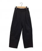 YLEVE(イレーヴ)の古着「パンツ」|ブラック