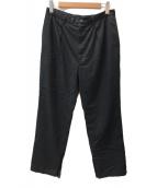 ()の古着「slit pants」 ブラック