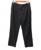 THEE(シー)の古着「slit pants」|ブラック