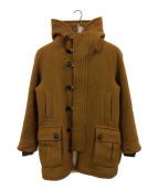 ()の古着「オーロラマンコート」 ブラウン