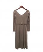 Little suzie()の古着「3way カットドレス」 ブラウン