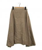 MADISON BLUE(マディソンブルー)の古着「ミモレフレアスカート」|モカ