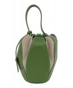 ()の古着「ハンドバッグ」|グリーン