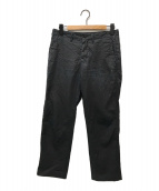 ()の古着「シワ加工パンツ」|ブラック