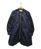 ()の古着「MA-1 ロングブルゾン」|ネイビー