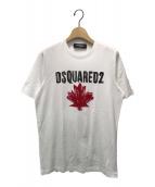 ()の古着「Maple Leaf Tシャツ」|ホワイト