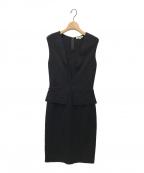 EPOCA(エポカ)の古着「ピガーレドレス」|ブラック