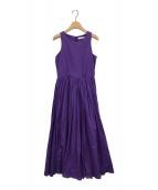 ()の古着「夏のレディーのドレス」|パープル